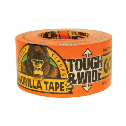 Gorilla 3044301 Tape Tough & Wide Orange 73mm x 27m
